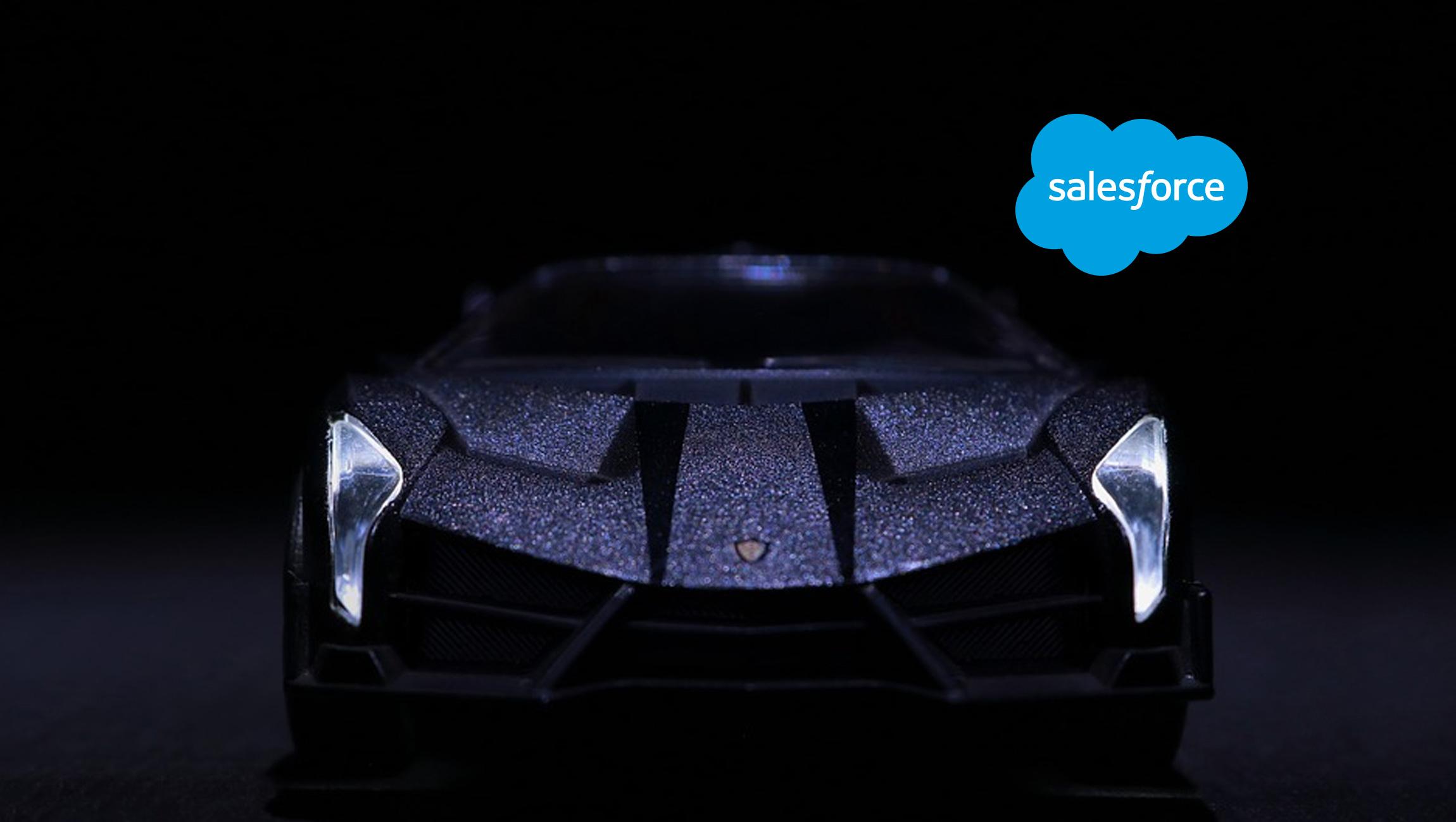 Automobili Lamborghini Accelerates Trust and Authenticity with Salesforce