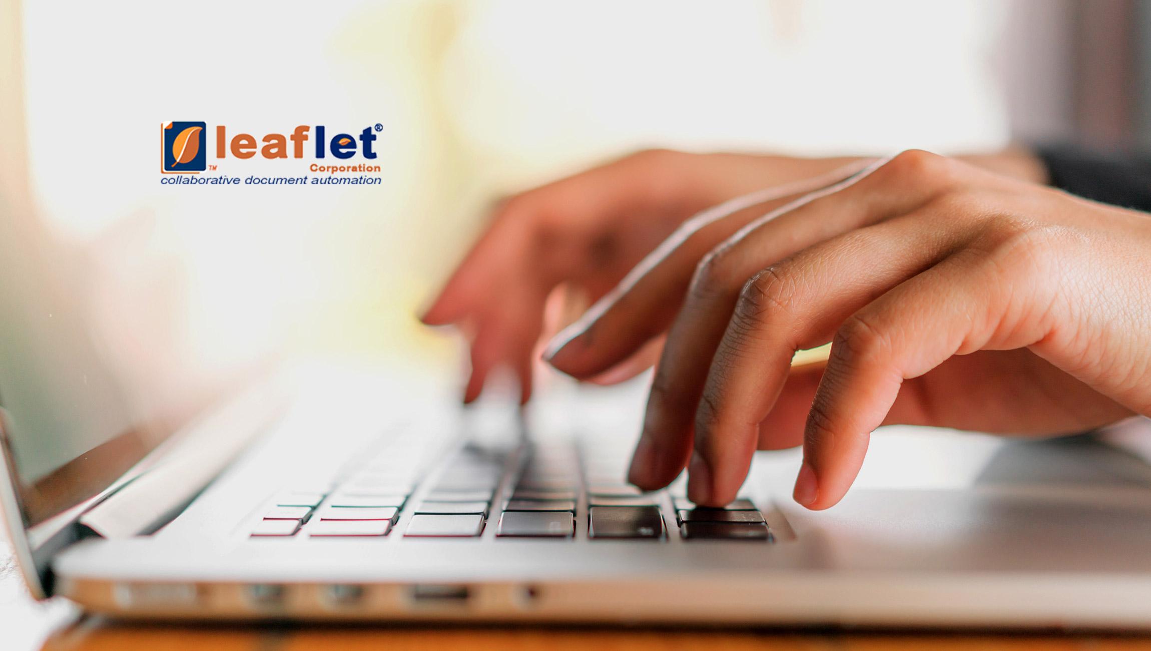 Leaflet Corporation Showcases Contract Automation Platform At IACCM Americas 2019