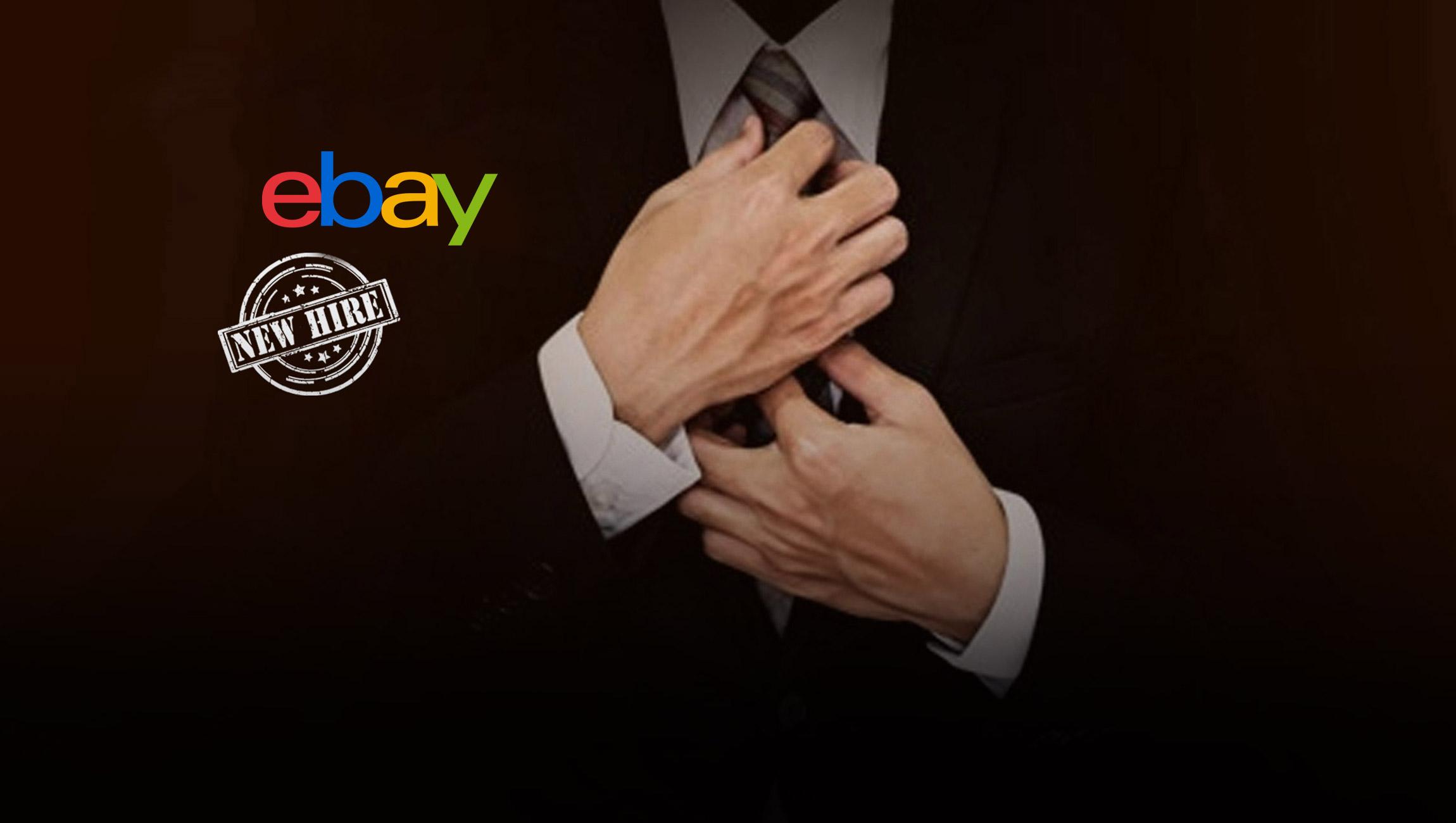 eBay Names Steve Priest Chief Financial Officer