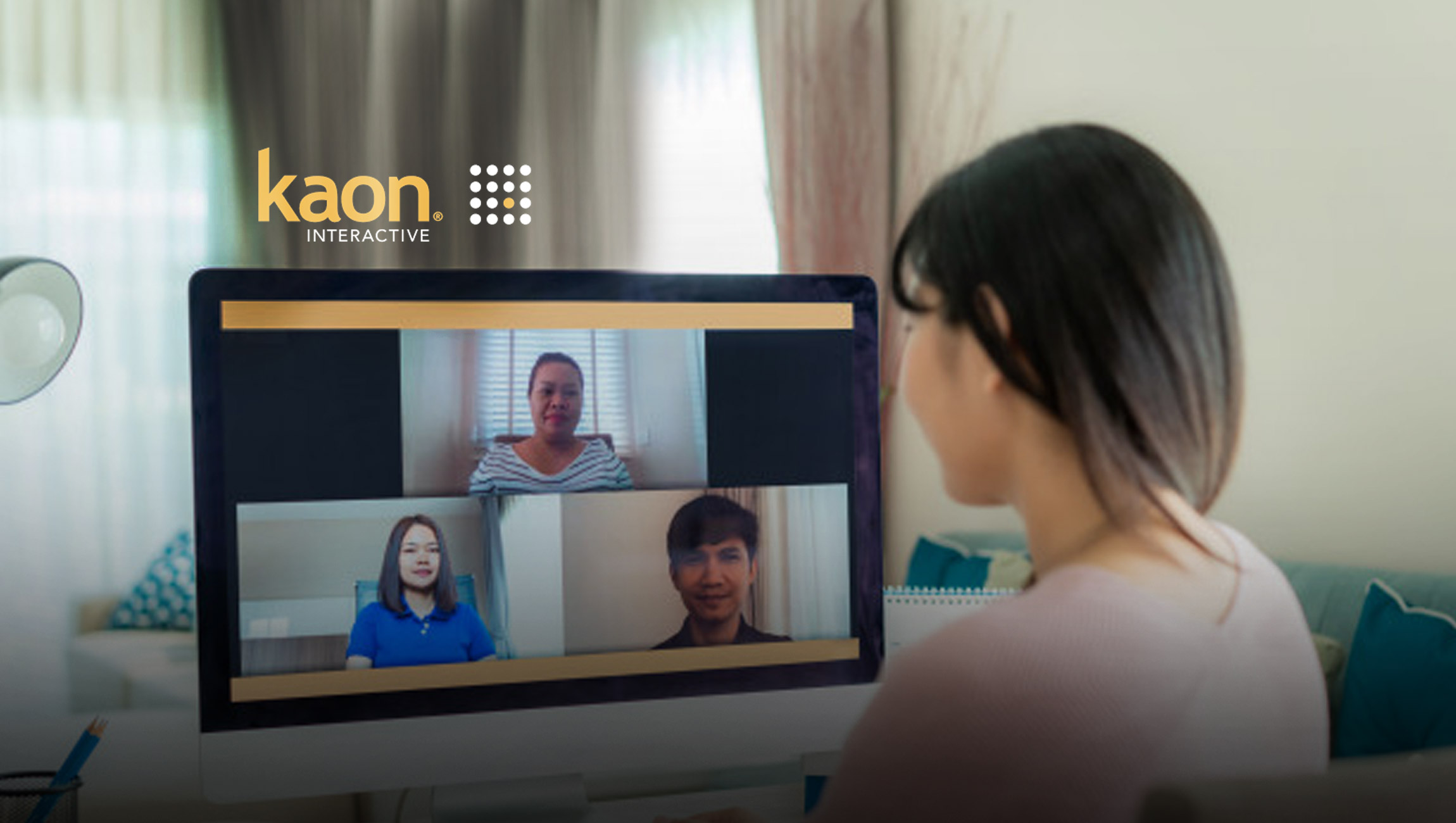 Kaon Interactive Announces Video Conferencing Connection (with WebEx, ON24, Zoom, Skype and more) to Elevate Virtual Sales and Marketing Engagement