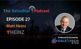 SalesStar Podcast - Matt Heinz