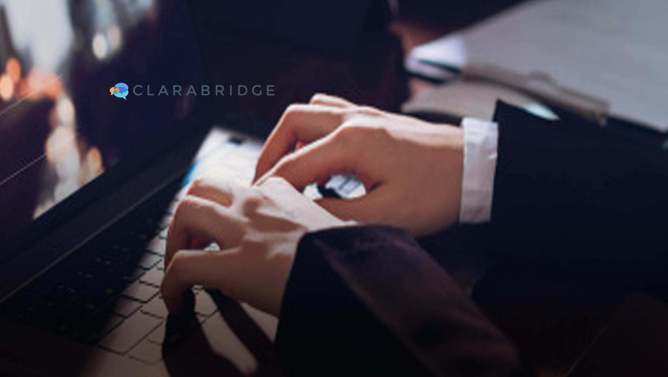 Clarabridge Launches Groundbreaking AI-Augmented Quality Management Solution