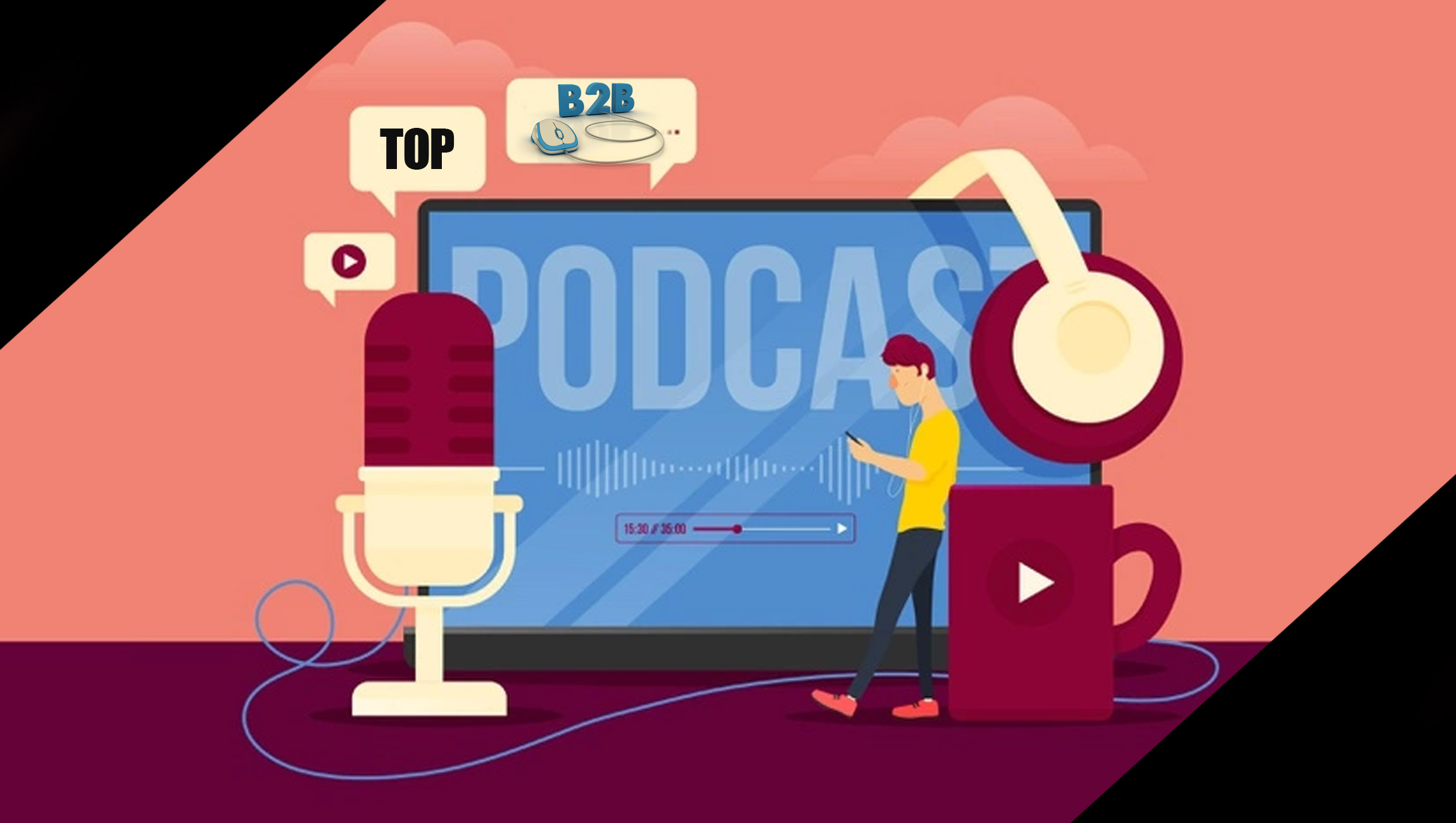 Just In Case You're Looking for a Few Good Sales and Marketing Podcasts!