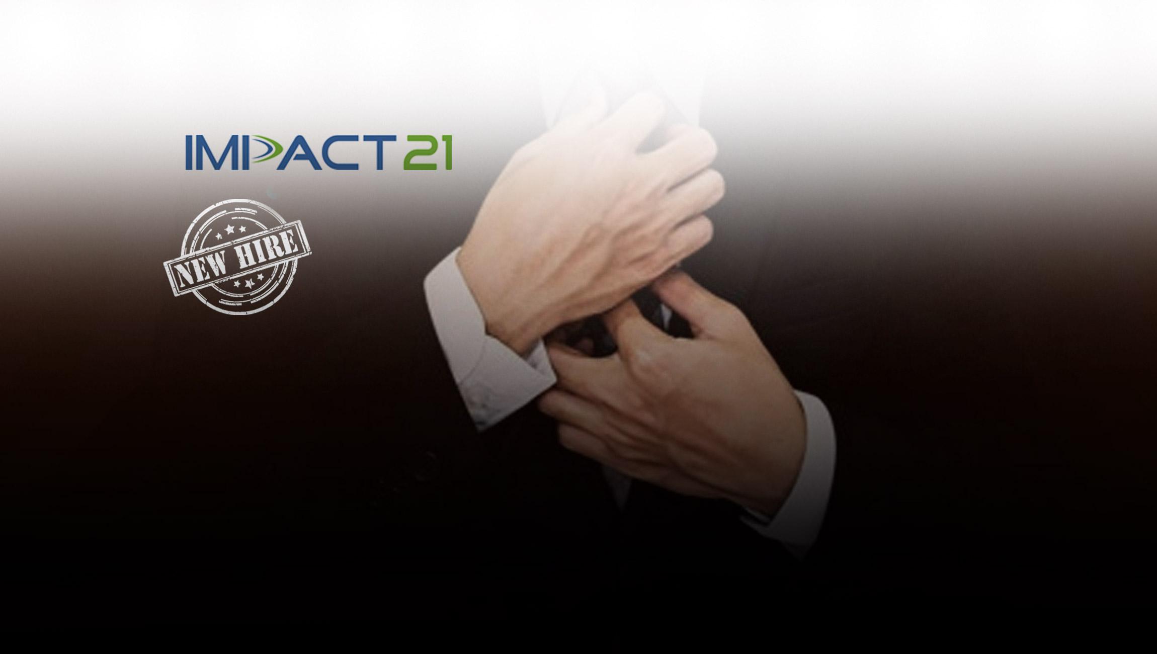 Impact 21 Welcomes Tom Newbould as New Senior Principal Consultant