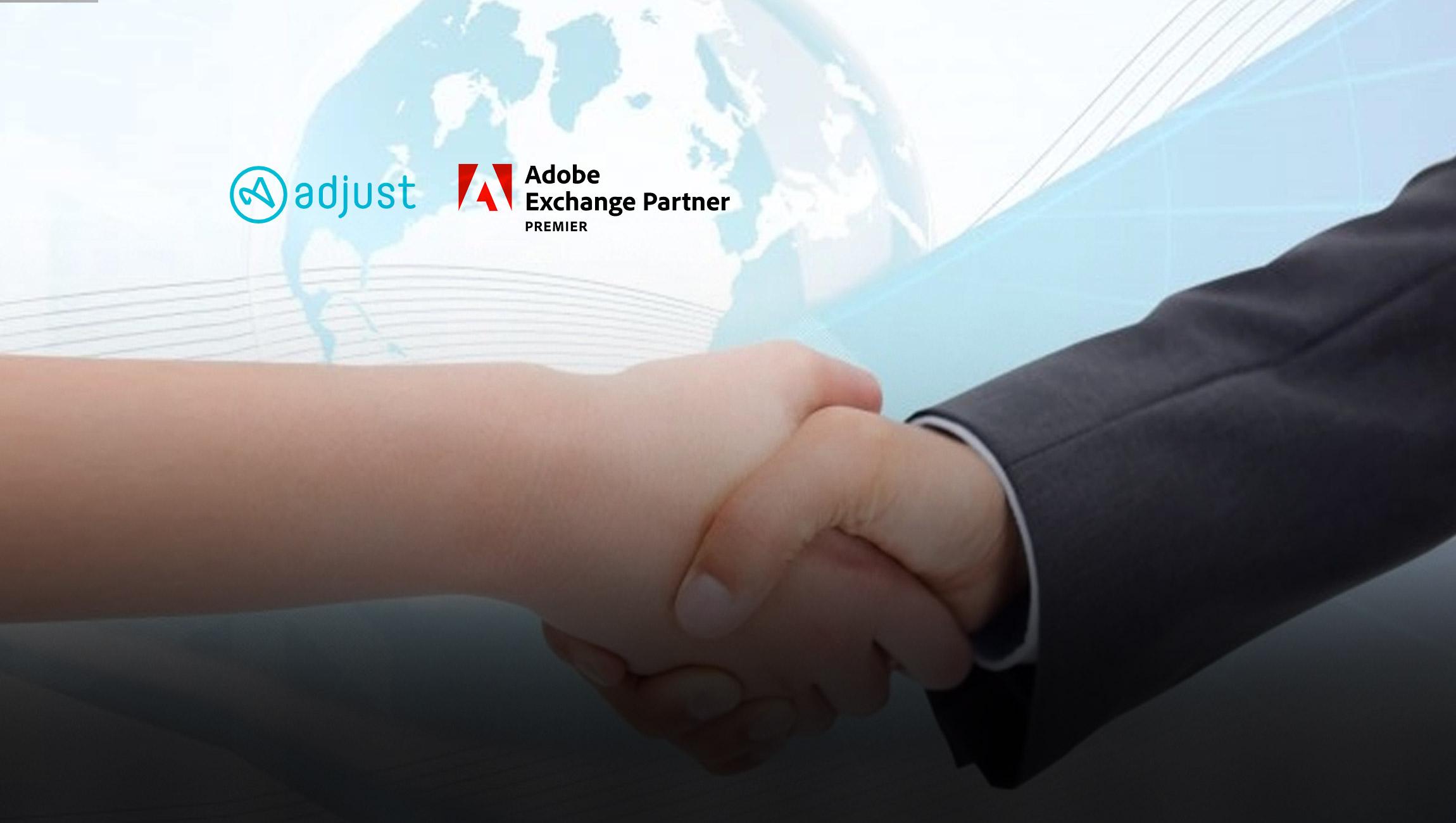 Adjust Joins Adobe Exchange Partner Program to Enhance App Marketing Measurement, Fraud Prevention and Reporting for Digital Advertisers