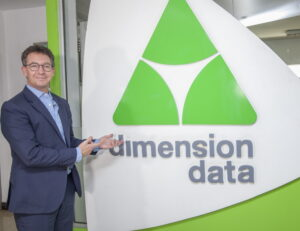 Richard Hechle, Managing Director of Dimension Data, East and West Africa