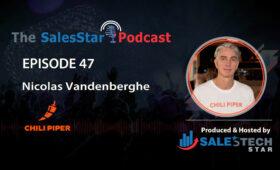 SalesStar Podcast-47_Nicolas-Vandenberghe-Chili Piper