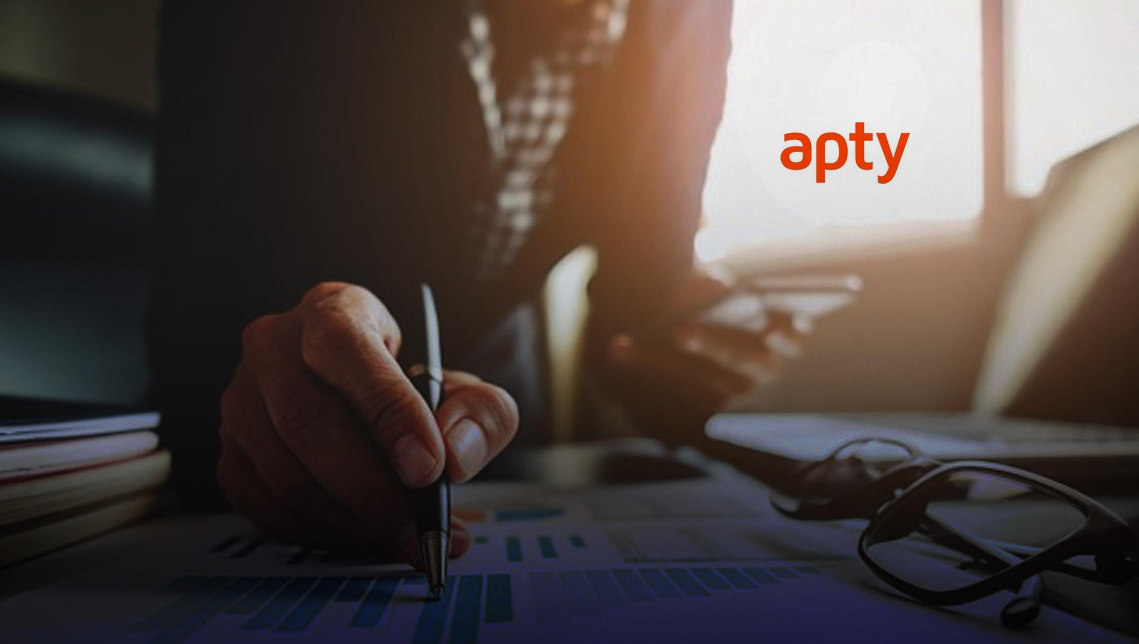 Apty Raises $5.4 Million in Post-Seed Funding