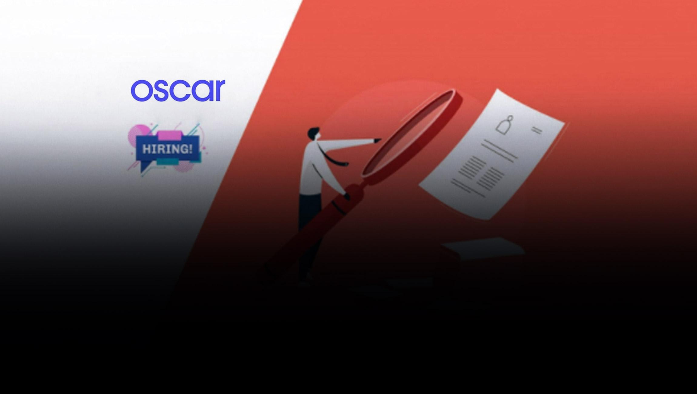 R. Scott Blackley Joins Oscar as Chief Financial Officer