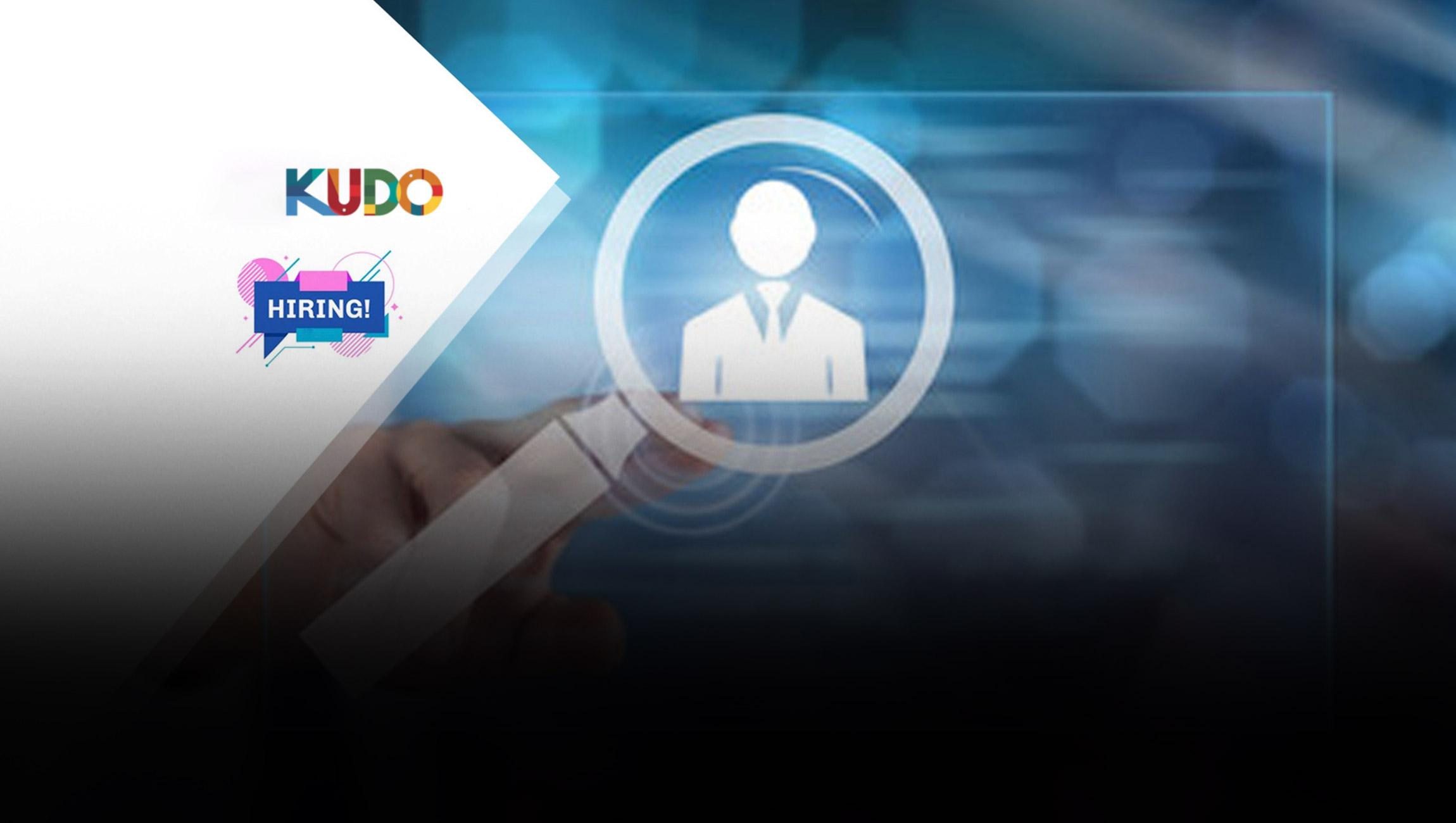 KUDO Adds SaaS Sales Expert, Noel Hillman to theExecutiveTeam as VP of Sales