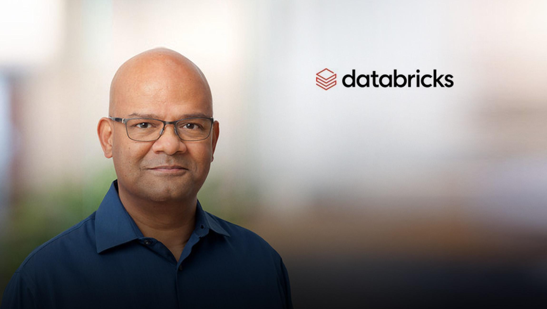 Databricks Appoints Vinod Marur as Senior Vice President of Engineering