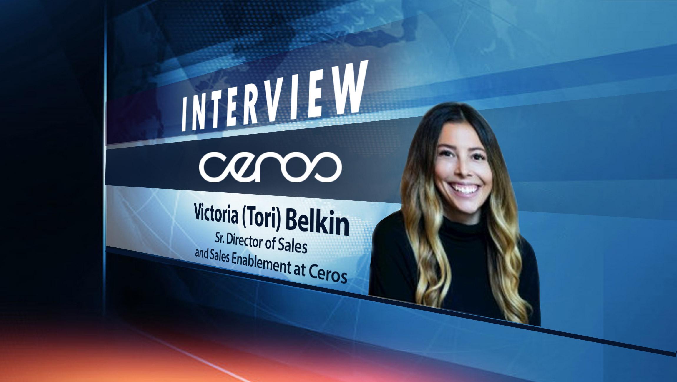 SalesTechStar Interview with Victoria (Tori) Belkin, Head of Revenue Enablement at Ceros
