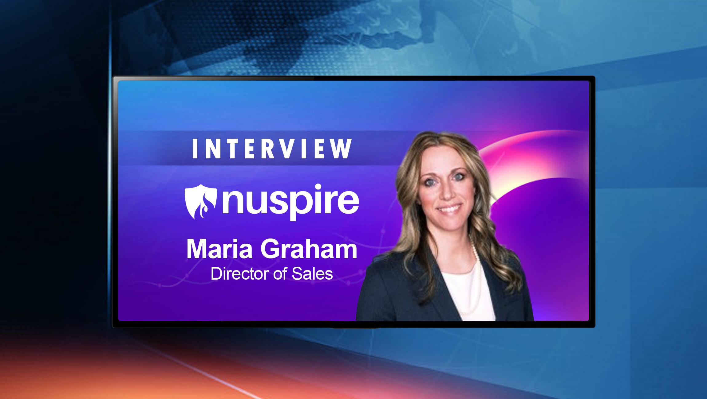 SaleTechStar Interview with Maria Graham, Director of Sales, Nuspire