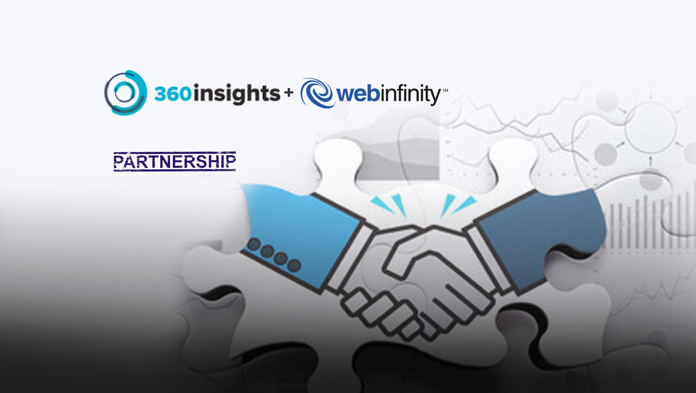 360insights and Webinfinity Form Strategic Partnership